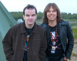 Stein-Vidar and Joey Tempest