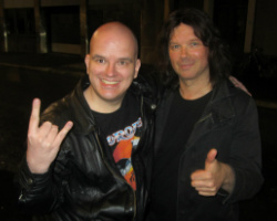 Stein-Vidar and John Norum